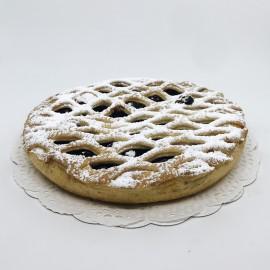Grande tarte cerises treillée