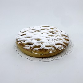 Petite tarte abricots treillées
